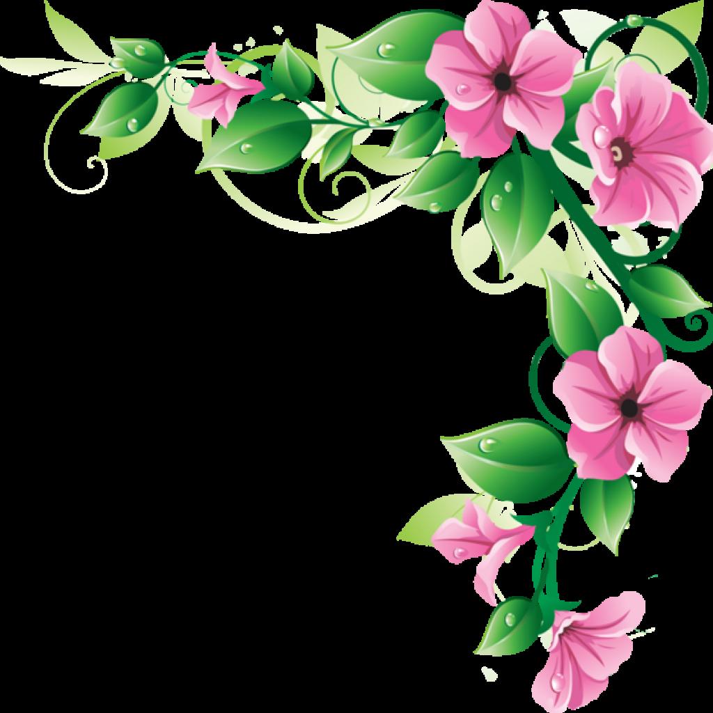 Border clip art flower. Clipart snowman hatenylo com