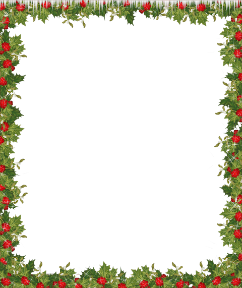 Transparent frame scrapbooking christmas. Border clip art holiday