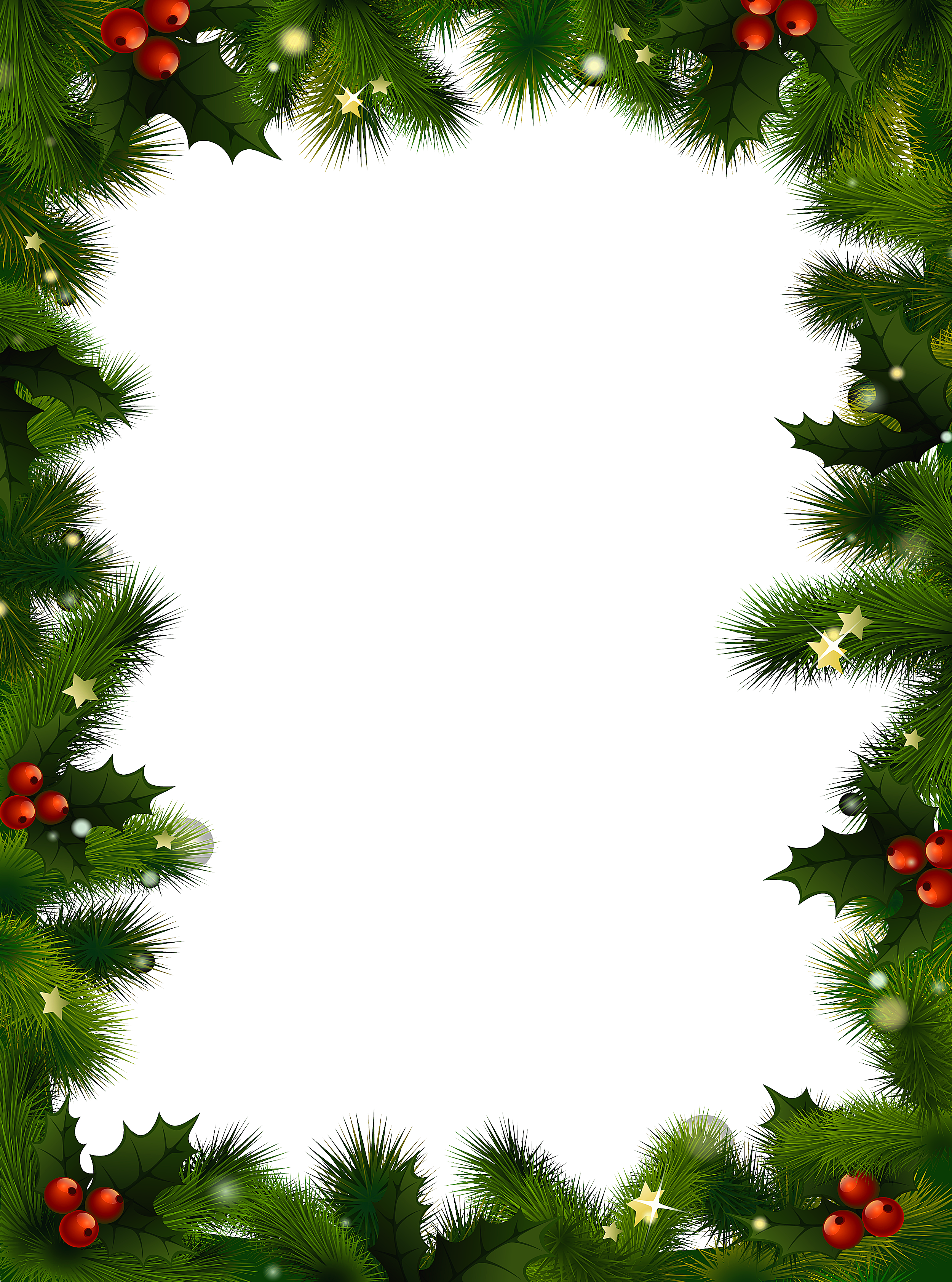 Holiday clipart picture frame. Borders for word documents