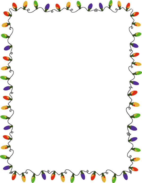 Border clip art holiday. Free cliparts download clipart