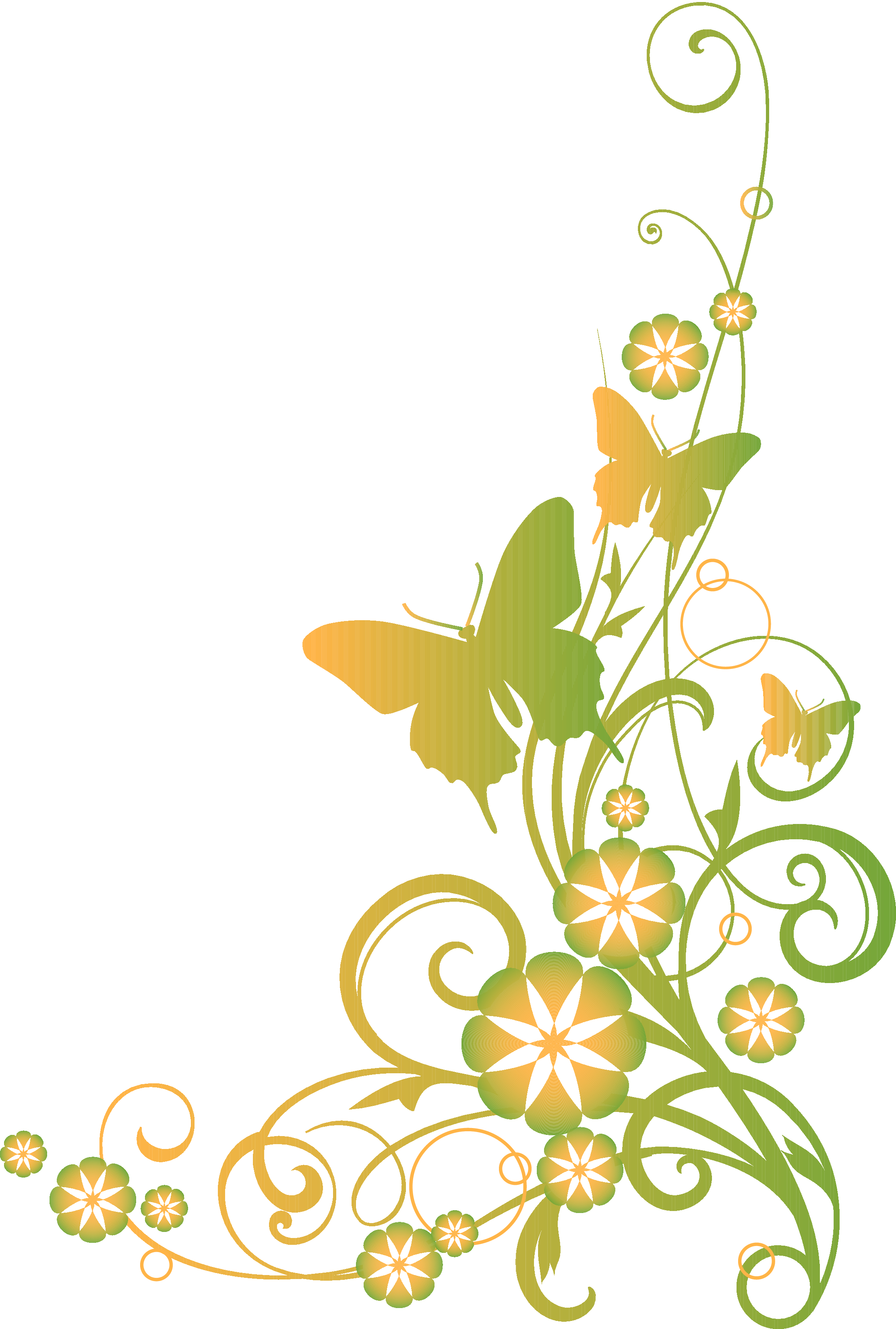 Religious clip art and. Vines clipart yellow flower
