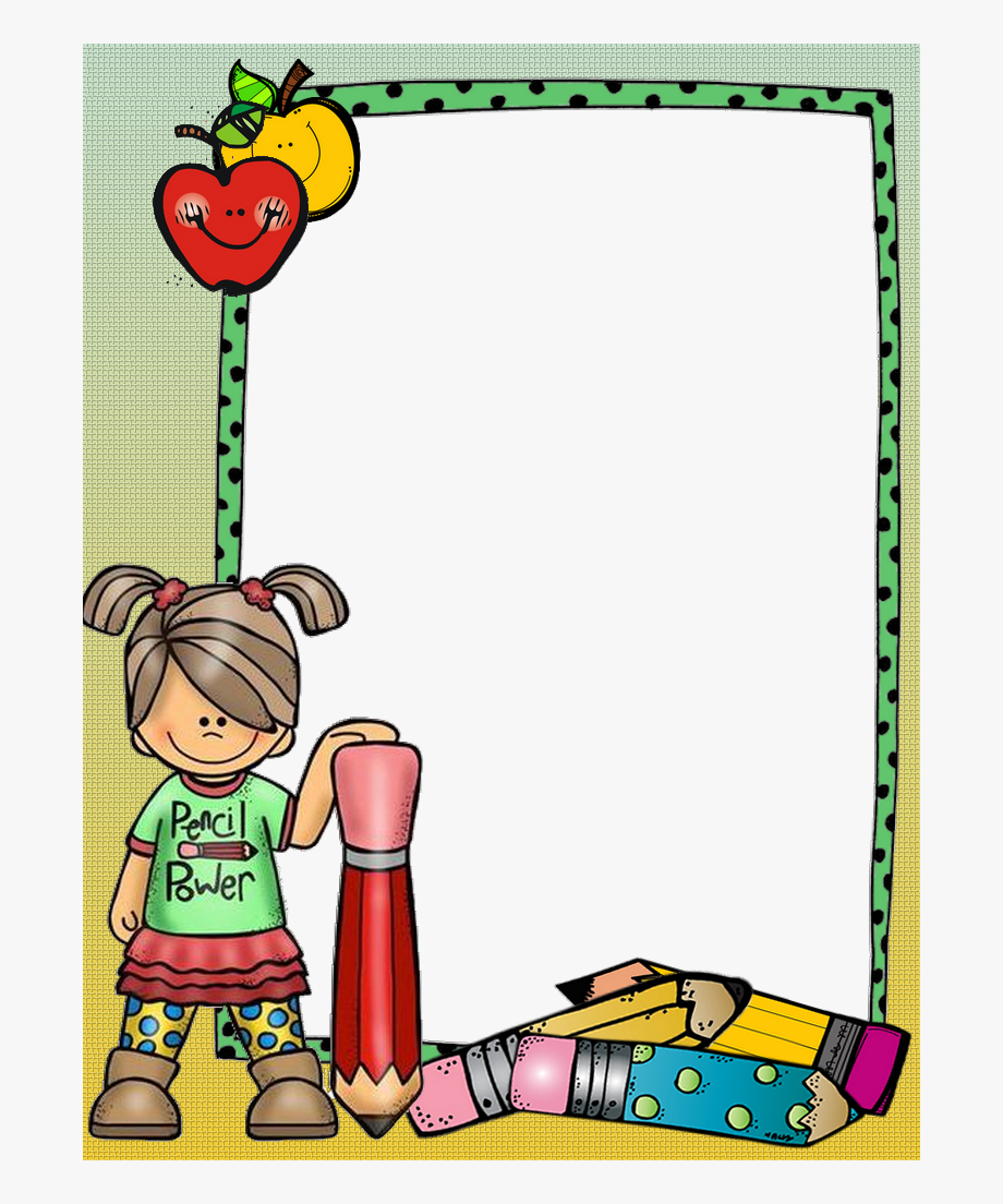 Boarder clipart school. Borders for paper and