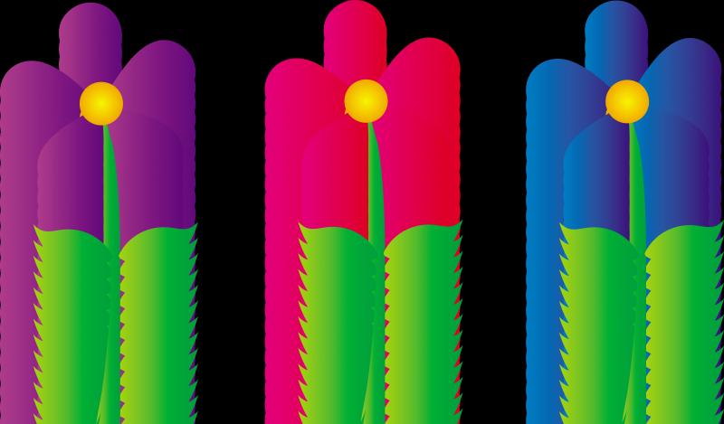 Flower free flowers. Border clip art spring