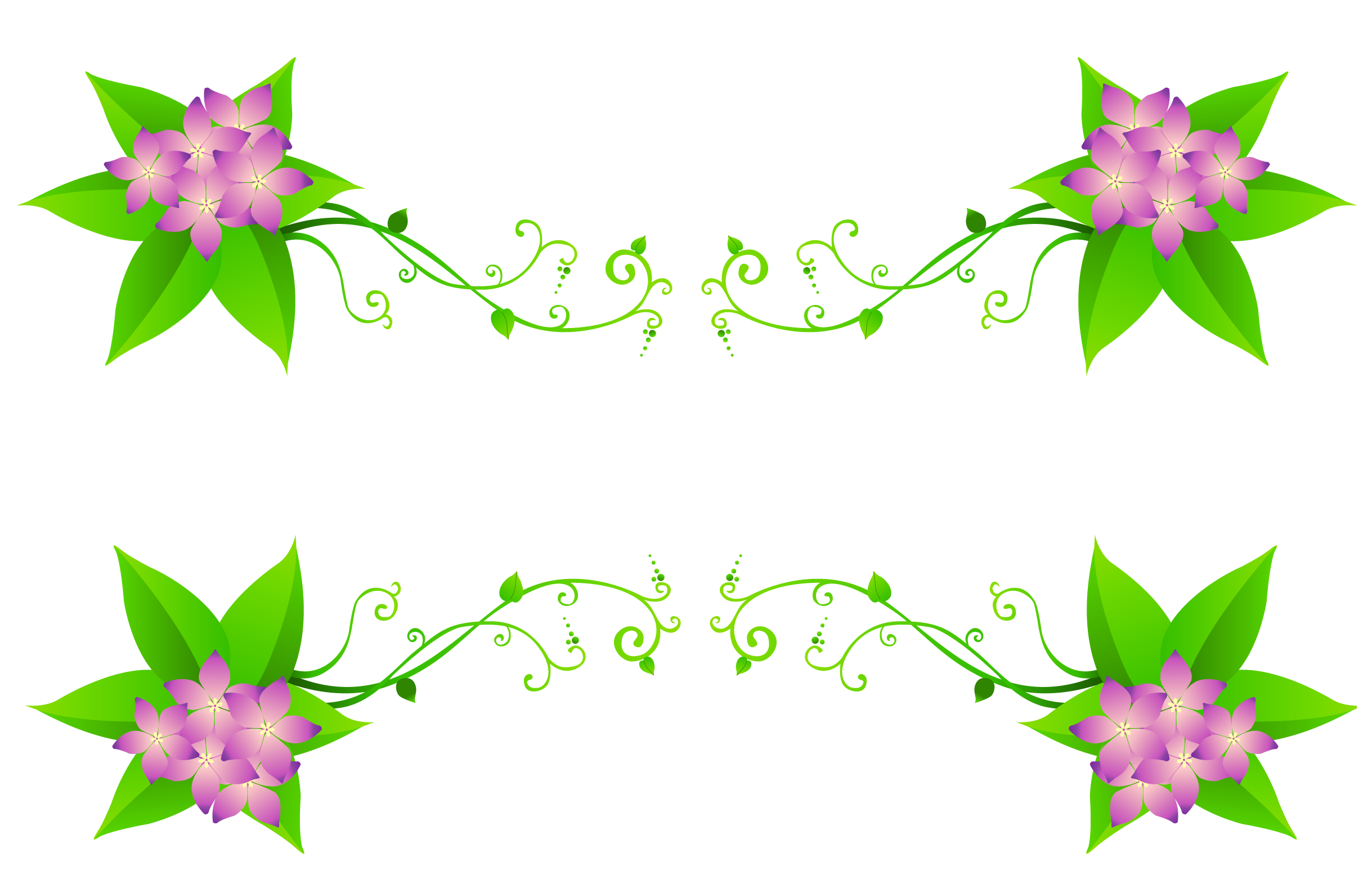 Spring flowers decoration gallery. Spider clipart decor