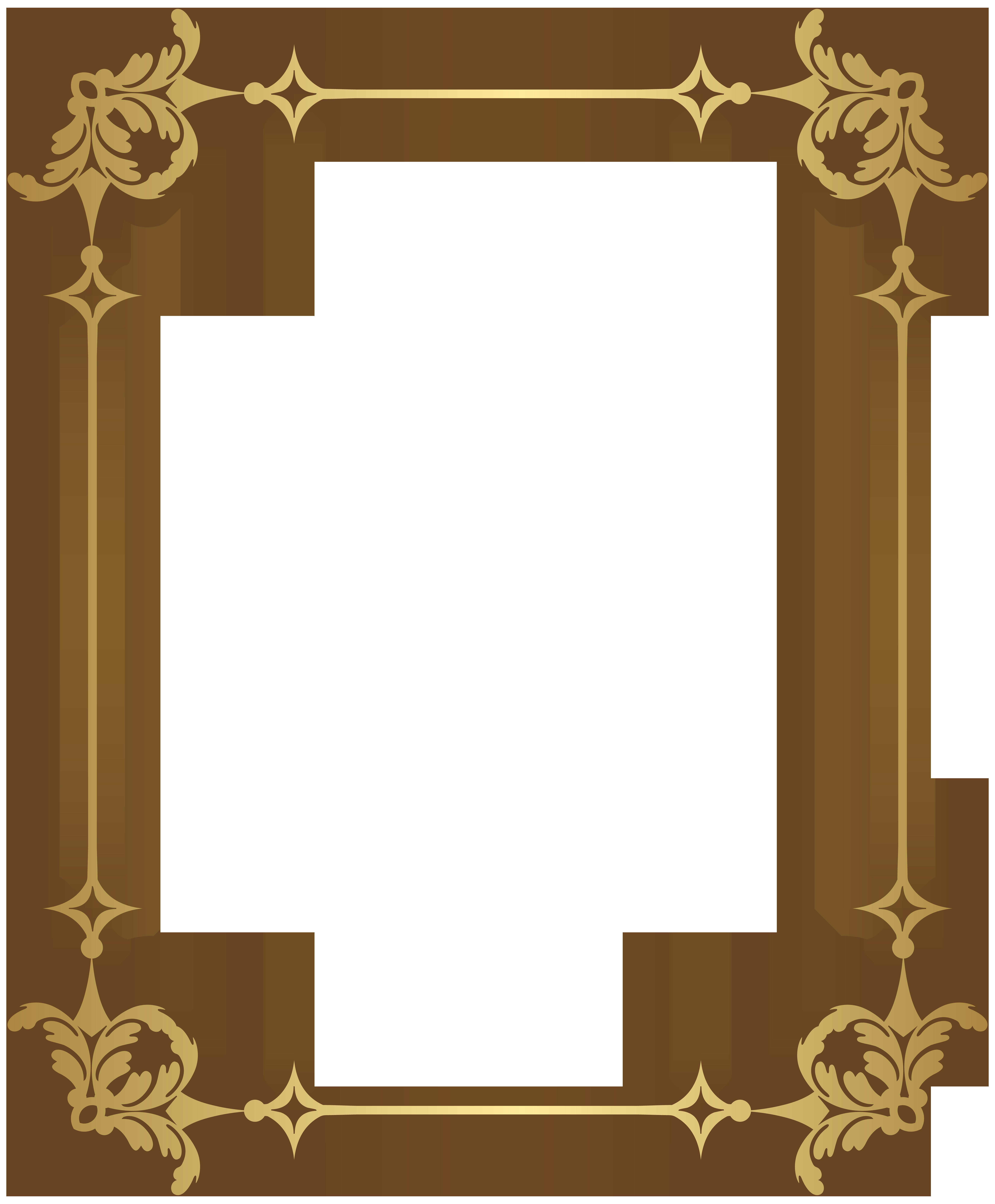 Border decoration transparent clip. Decorative frame png