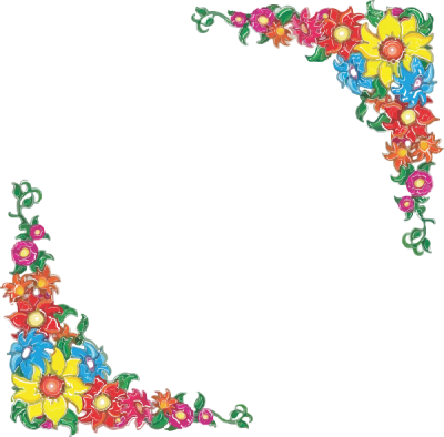Border clip art transparent. Download flowers borders free