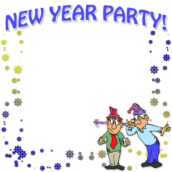 border clipart celebration free happy new year