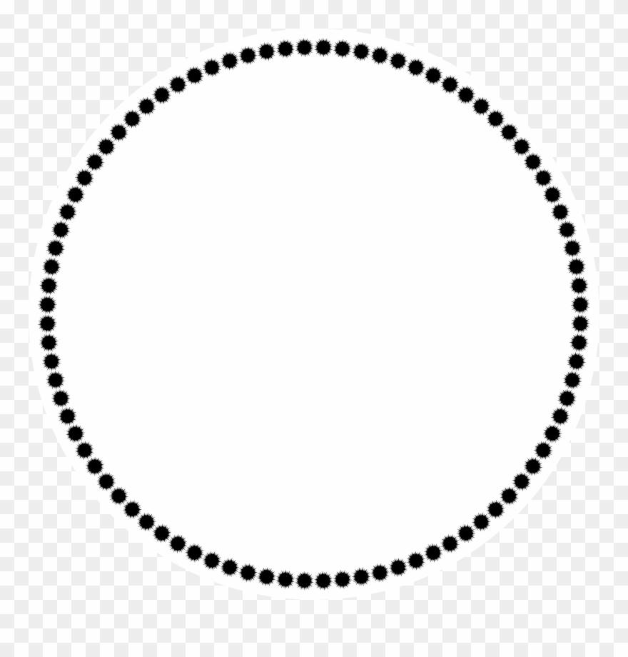 Clip art kit festa. Border clipart circle