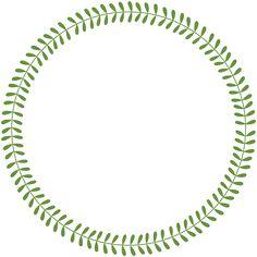 Free laurel frames arrows. Border clipart circle