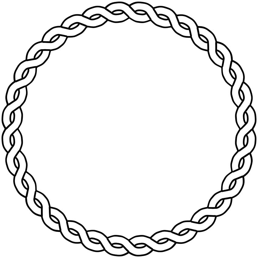 Free cliparts download clip. Border clipart circle