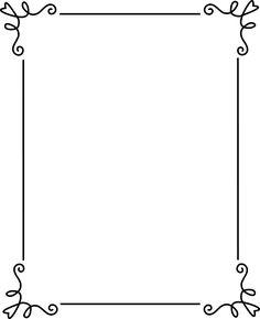 Border clipart frame. Art deco corner b