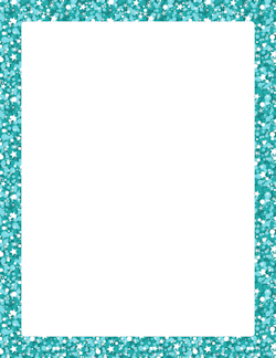 Border clipart glitter. Blue frames and boarders