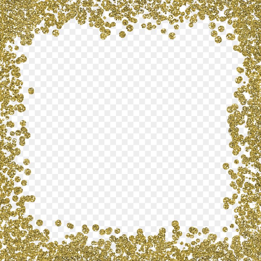 Border clipart glitter. Wedding invitation gold clip