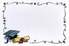 Border clipart graduation. Szukaj w google be