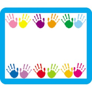 Handprint clipart border paper. Free cliparts download clip
