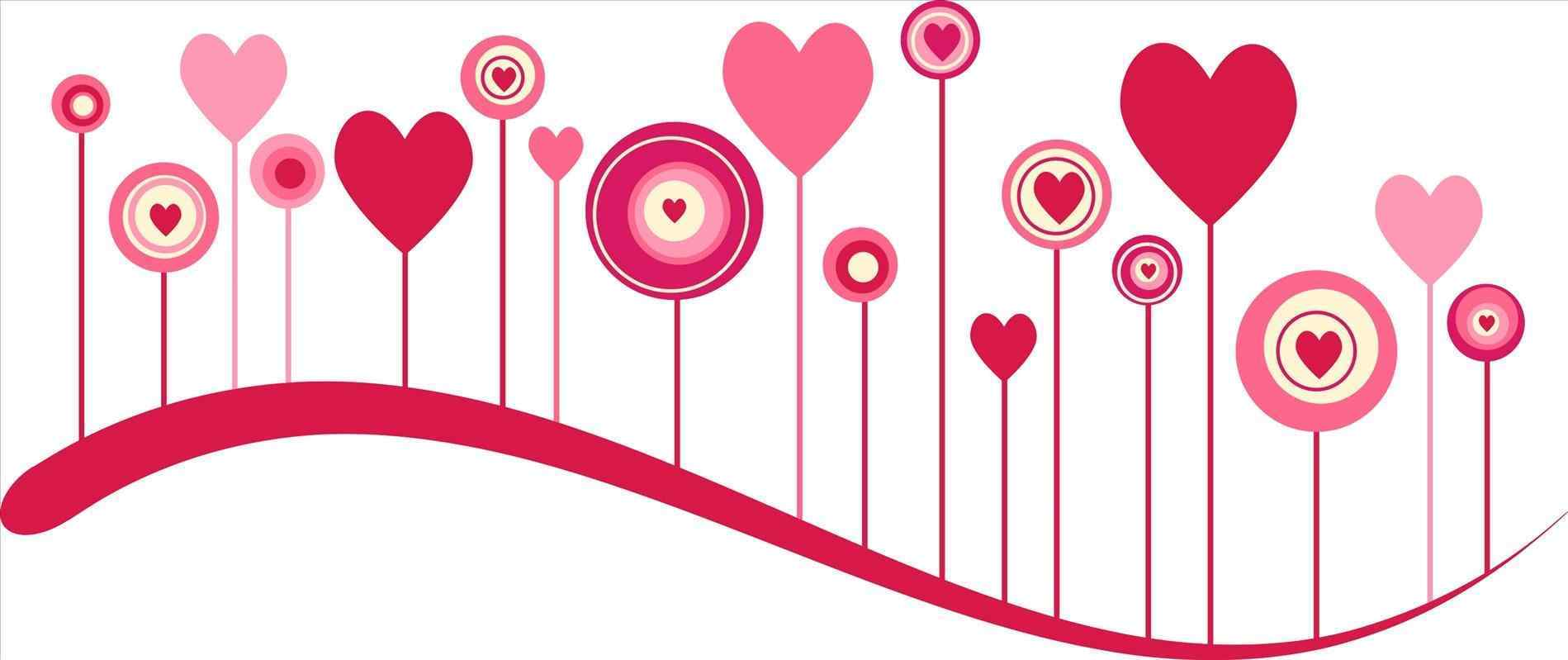 Valentines day borders incep. Border clipart horizontal