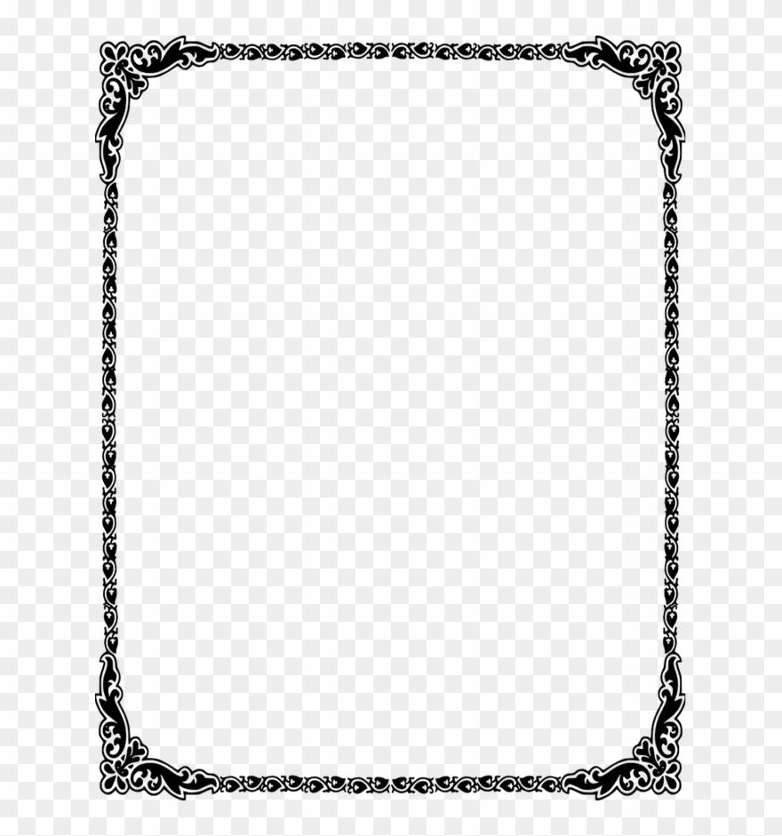 Dorable wedding borders clip. Border clipart invitation