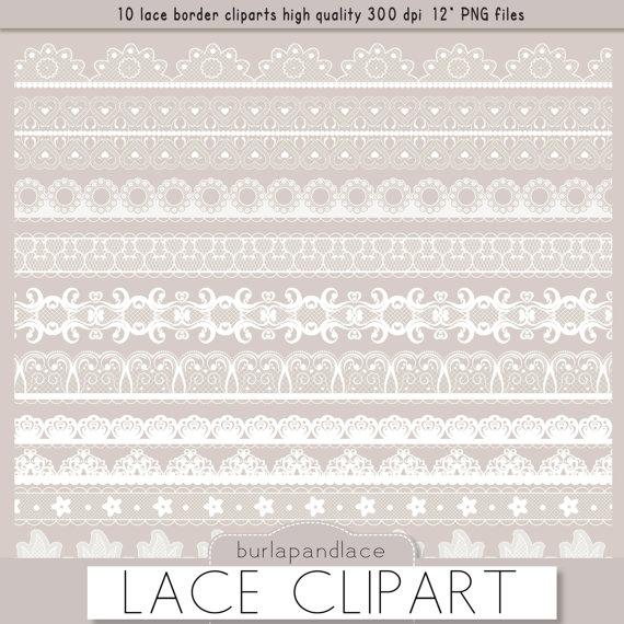 Borders clipart lace. White clip art border