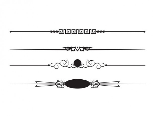 Boarder clipart line art. Free borders lines