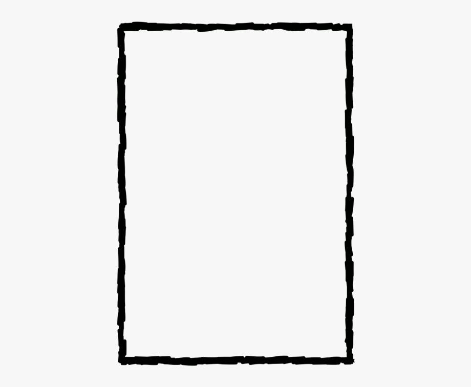Cadres simples pocket letters. Border clipart line
