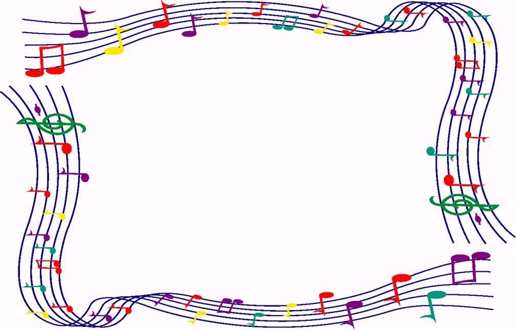 Border clipart music. Free cliparts download clip