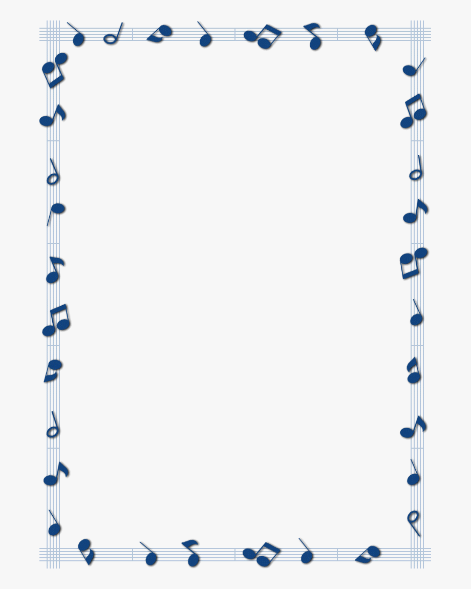 Border clipart music.  collection of free