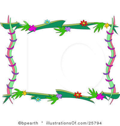 Borders clipart nature. Free