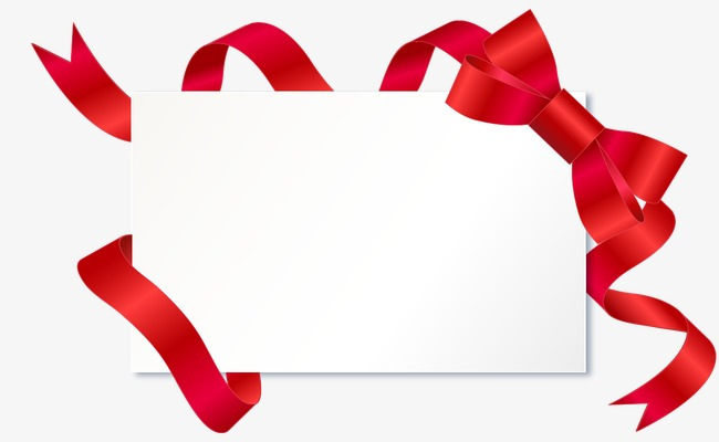 Red border signs frame. Borders clipart ribbon