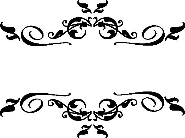 Black image . Border design png