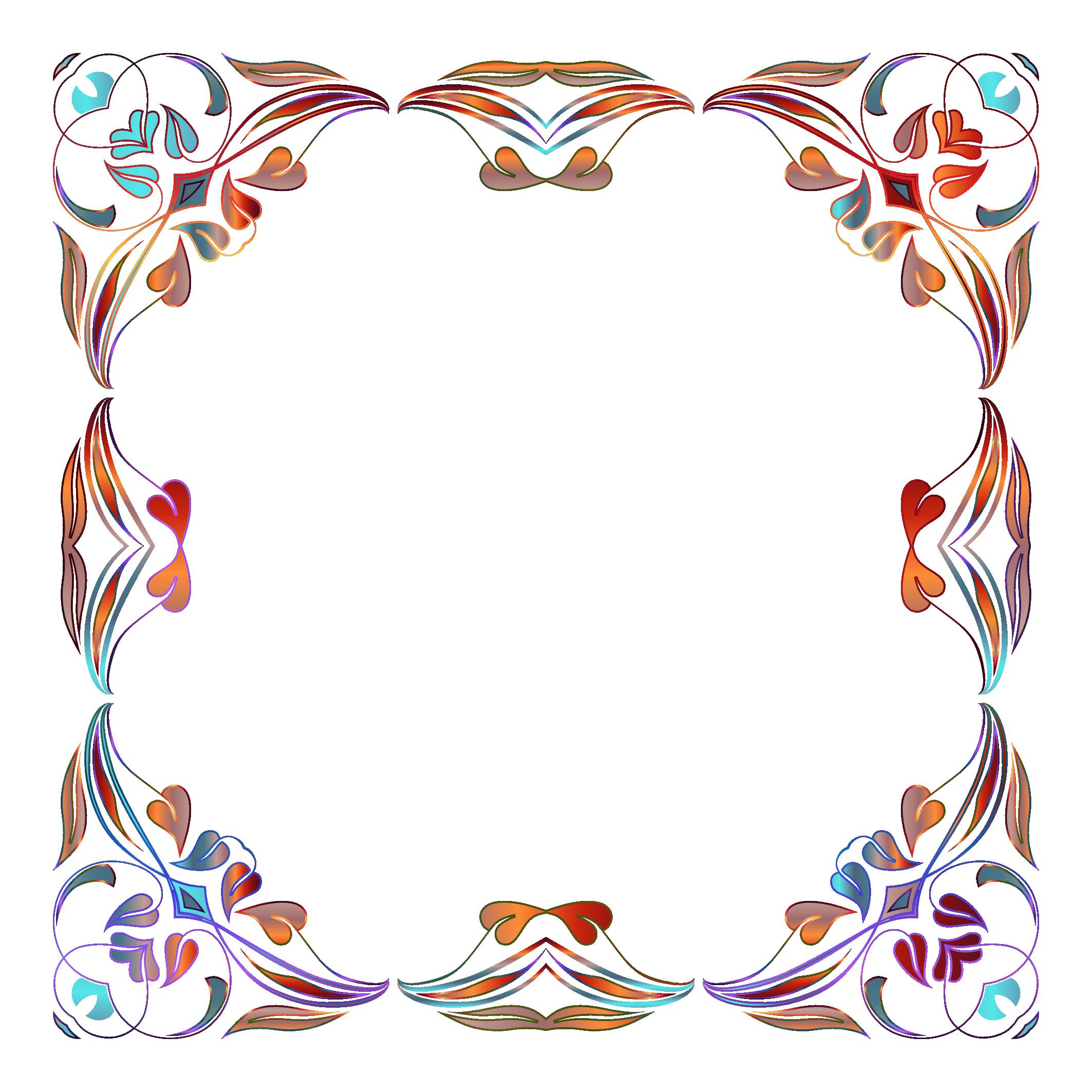 Border images png. Floral image pngpix