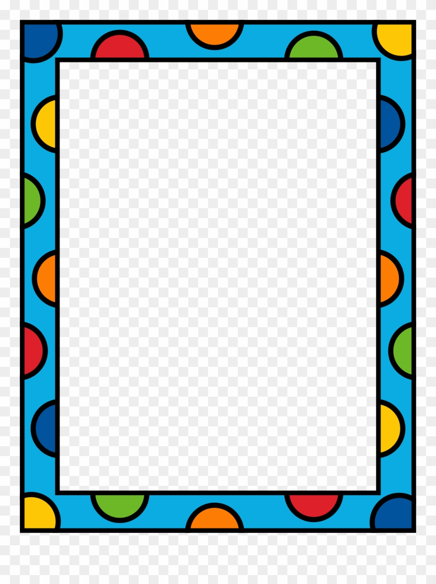 Download kindergarten and frames. Borders clipart