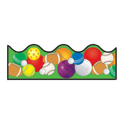 Image of bulletin board. Banners clipart sport