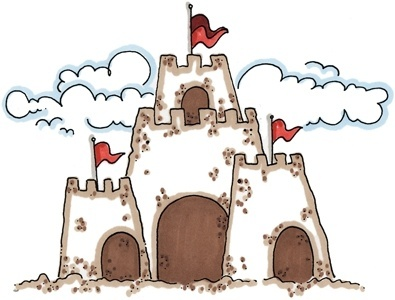 best beach hawaii. Borders clipart castle