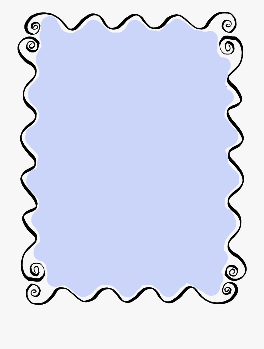 Filigree clipart curly. Stamp border clip art