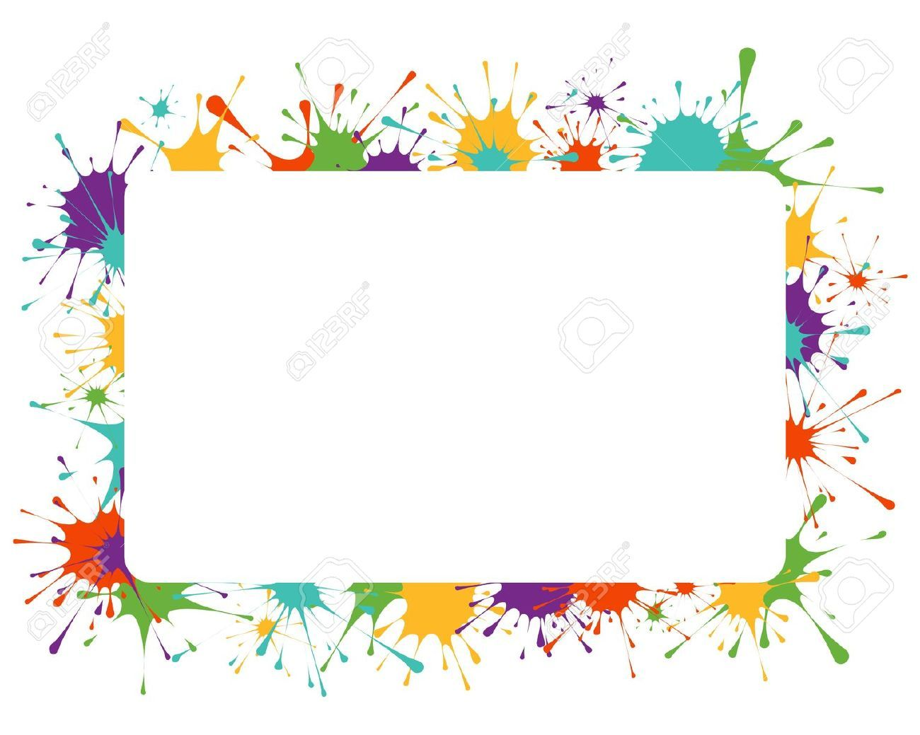 Frame illustrations google search. Borders clipart cute