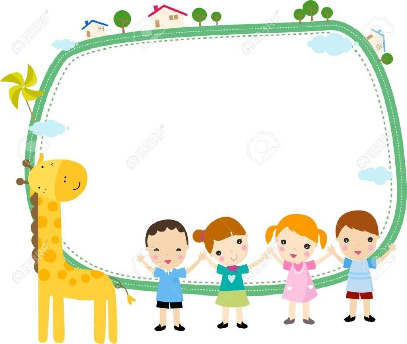 Cartoon and frames free. Borders clipart cute