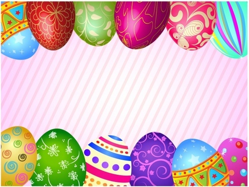 Happy vector free download. Borders clipart easter egg