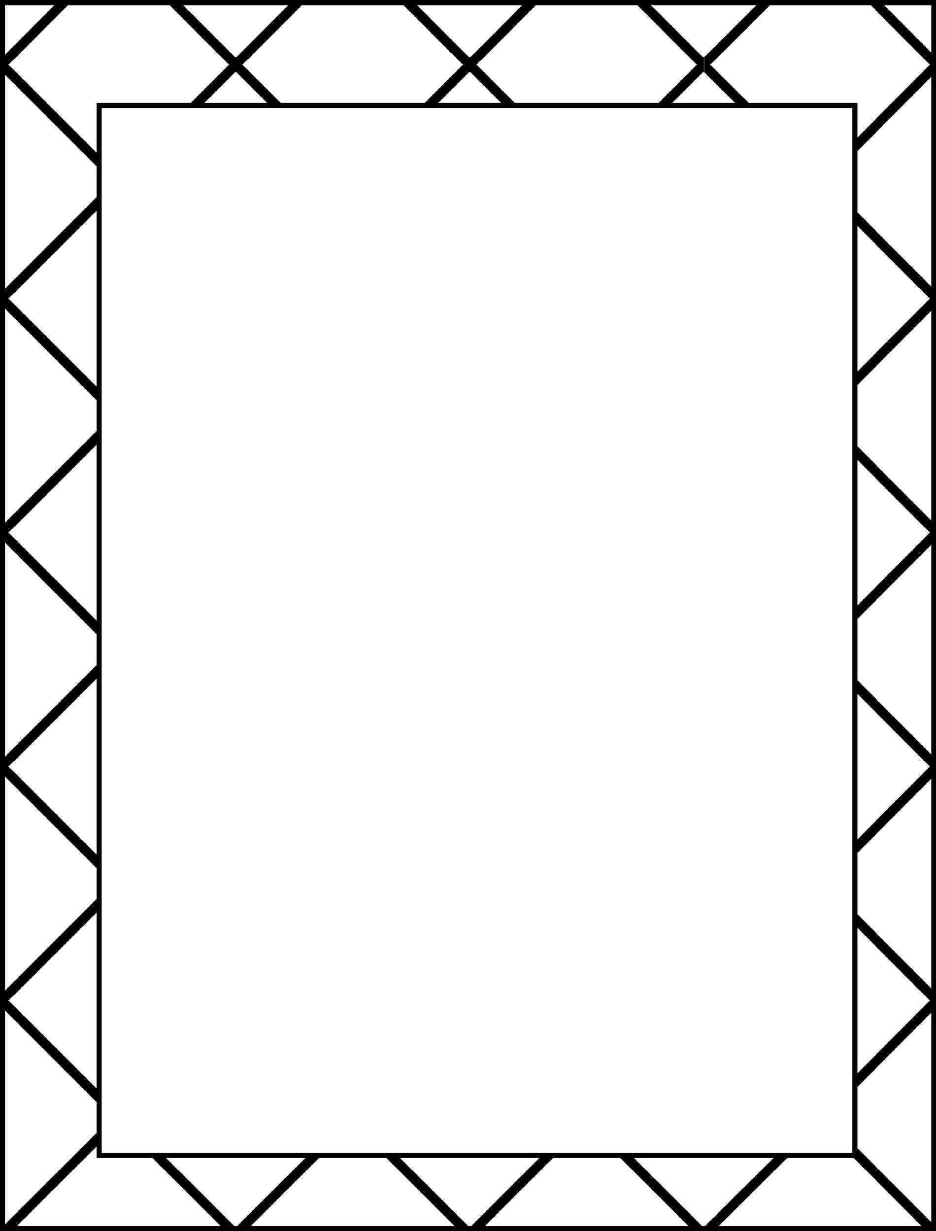 Border designs for school. Borders clipart easy