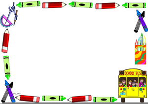Borders clipart elementary school. Free images at clker