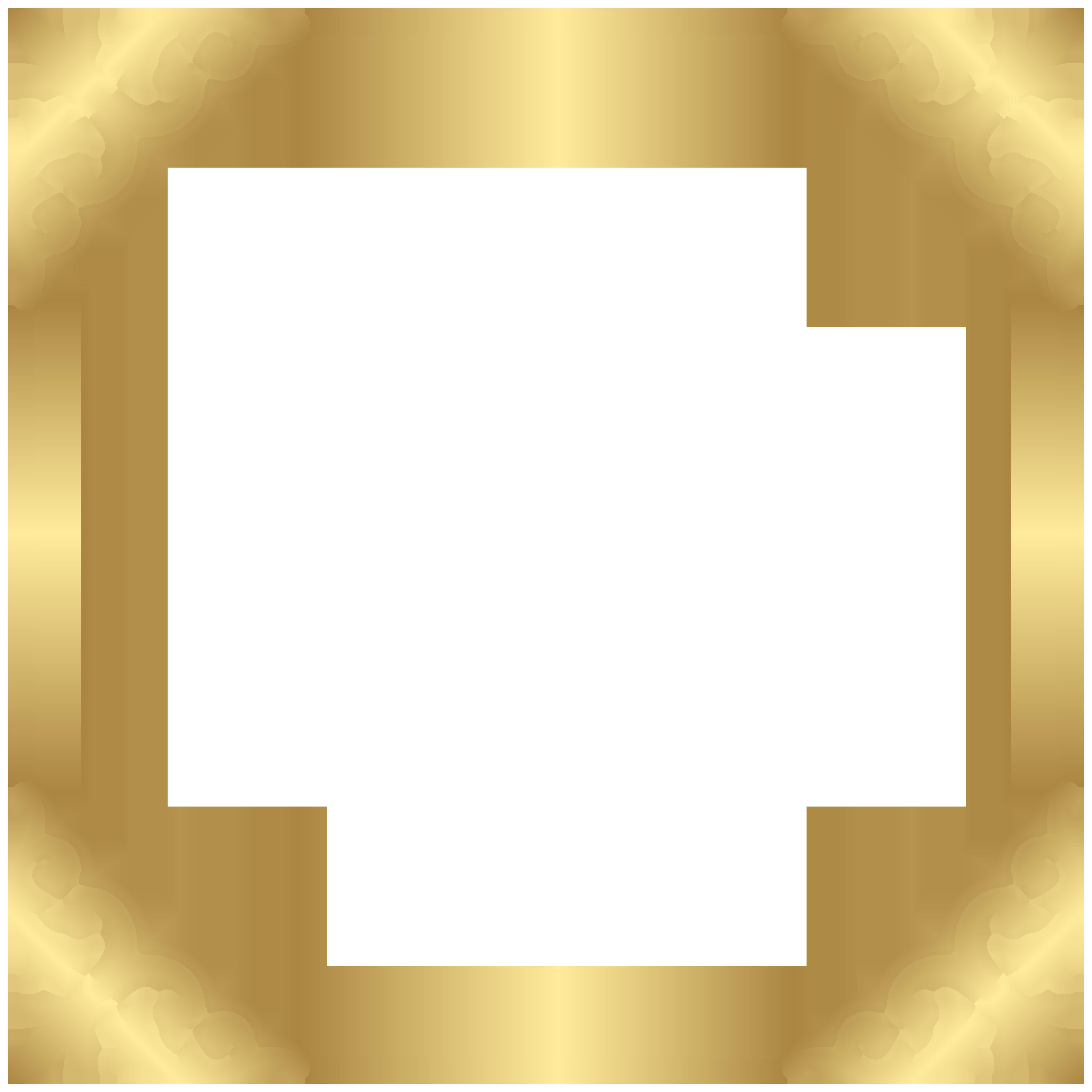Clipart lovely frame clip. Gold border png