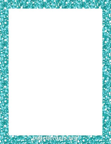 Borders clipart glitter. Blue border chrissy pinterest