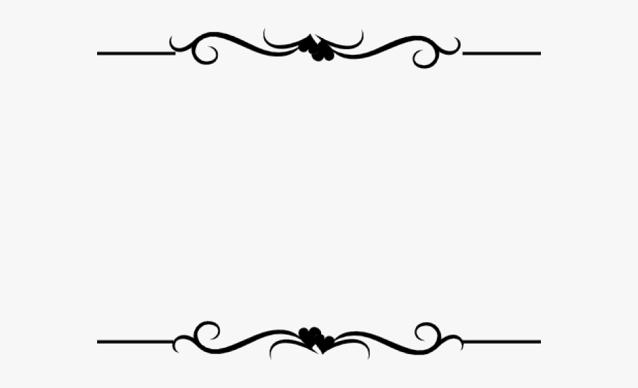 Borders clipart line. Wedding boarder border design