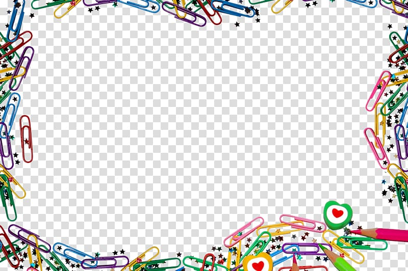 Borders clipart powerpoint. Paper clip border template