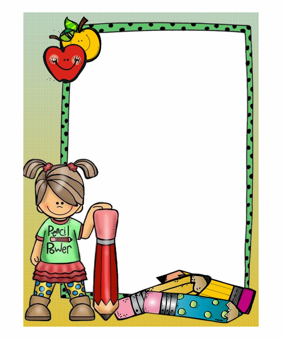 Borders clipart teacher. For paper and frames
