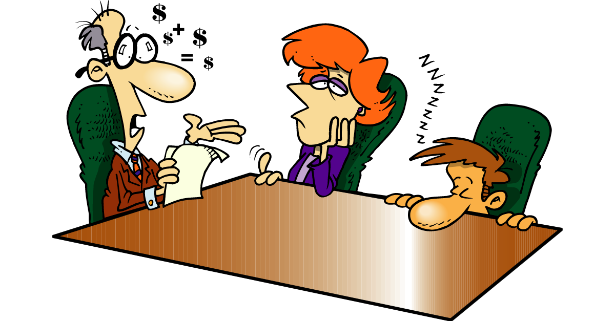 Accounting myth bookkeepers and. Bored clipart bored man