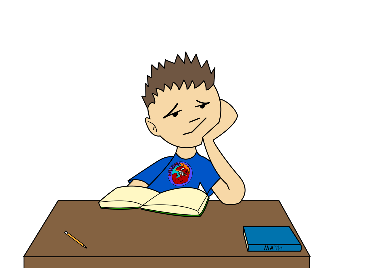 collection of boring. Daydreaming clipart