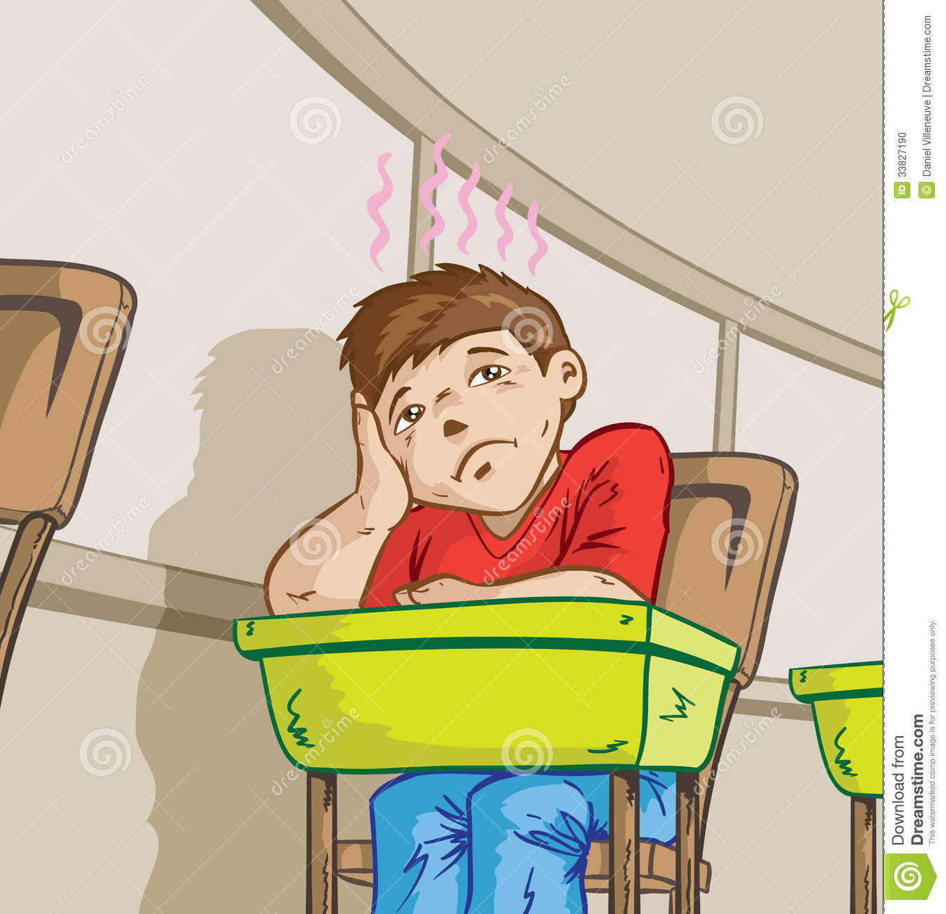 collection of high. Tired clipart boring school