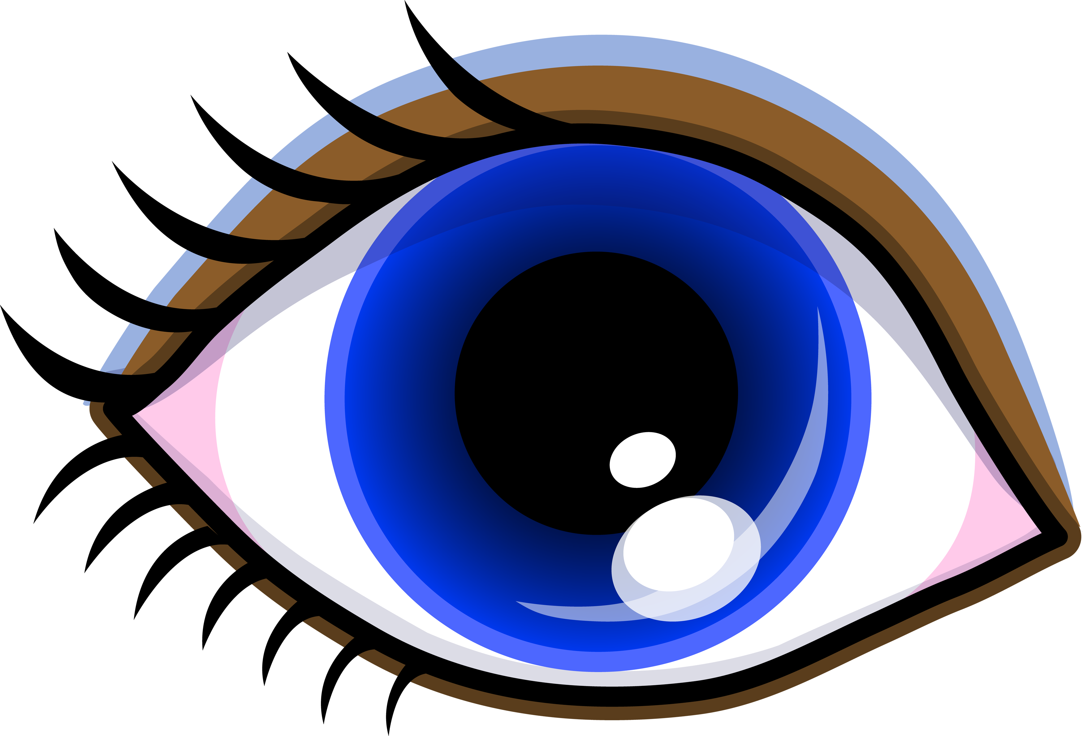clipart bat eye