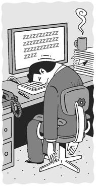 That boring job should. Employee clipart bored