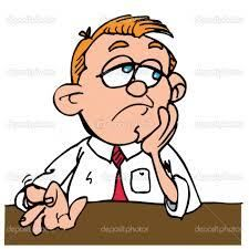 Are you morning story. Bored clipart guy